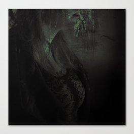 Spellcaster & Her Black Gates Canvas Print