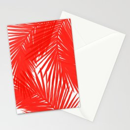Palms Red Hot Stationery Cards