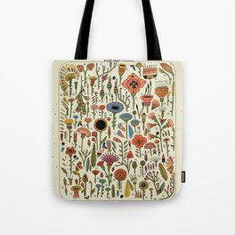 Wildflower Chart Tote Bag