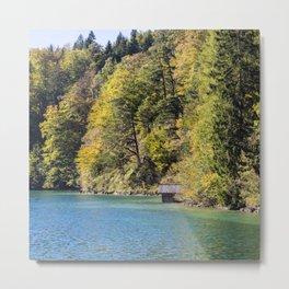 Alpsee lake Metal Print