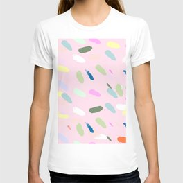Brush confetti T-shirt