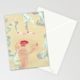 Delicious Cigarettes Stationery Cards
