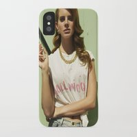 hollywood iPhone & iPod Cases featuring Hollywood by Michelle Rosario