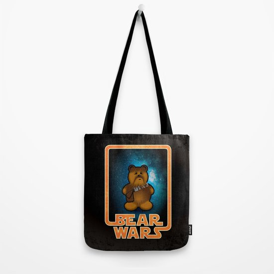 Bear Wars - Chompy Tote Bag