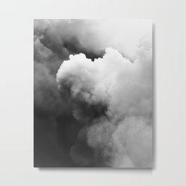 Smoke Over Yasur Metal Print