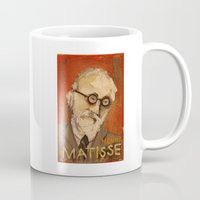 matisse Mugs featuring 50 Artists: Henri Matisse by Chad Beroth