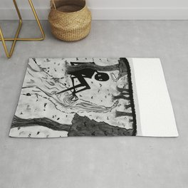 Lurking in The Woods Rug