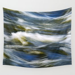 Waves Abstract Wall Tapestry