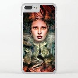 """Dream Winter, Spring Awakening"" Clear iPhone Case"