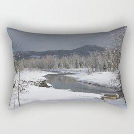 Castle Snow Rectangular Pillow