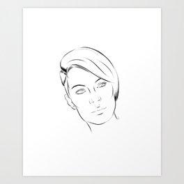 Cora Art Print