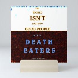 Good & Death Eater Mini Art Print