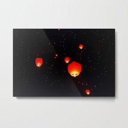Chinese lanterns Metal Print