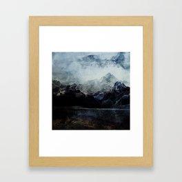 From the Sky Framed Art Print