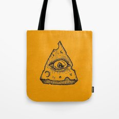 In Cheese We Trust Tote Bag
