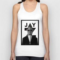 jay z Tank Tops featuring JAY-Z by olivier silven