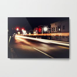 Illuminate the Streets Metal Print