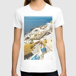Santorini City T-shirt