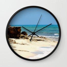 Grand Turk Beach Wall Clock