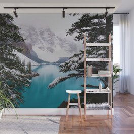 Paradise in the Mountains (Color) Wall Mural