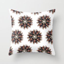 Bugs Throw Pillow