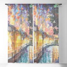 Tardis Stay In The Bridge Sheer Curtain