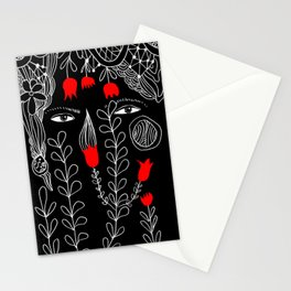 Love Skulls Stationery Cards