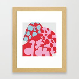 Fashion Mix Colors Framed Art Print