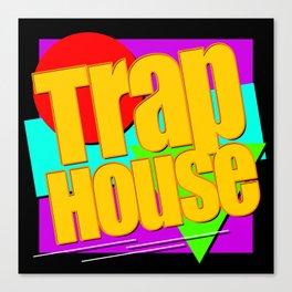 Trap House Square Logo Canvas Print