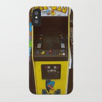 pacman iPhone & iPod Cases featuring PacMan by Brieana