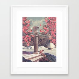Waiting for my Loneliness to Forgive Me Framed Art Print