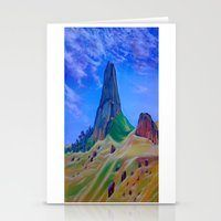 mountain Stationery Cards featuring Mountain by ArtSchool