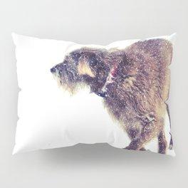 Snowy Puppy Pillow Sham
