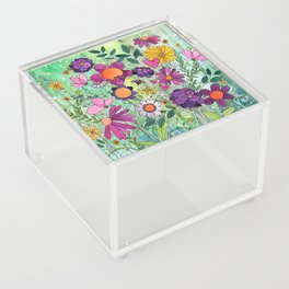 Purple Plum Parfait Acrylic Box