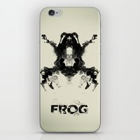 frog iPhone & iPod Skins featuring FROG by Alex Chen