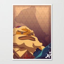 Goron Hero - Legend of Zelda Canvas Print