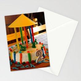 cake top decor Stationery Cards