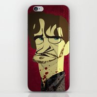 will graham iPhone & iPod Skins featuring Will Graham by nachodraws