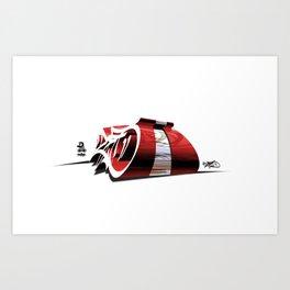 """DEO"" Art Print"