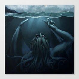 Cthulhu Dreams Canvas Print
