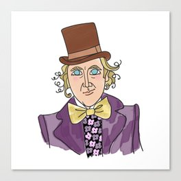 Sweet Gene - Willy Wonka Canvas Print