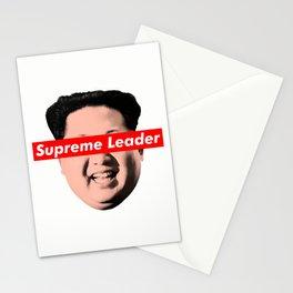 supreme leader Stationery Cards