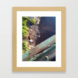 The things you missed Framed Art Print