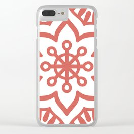 Pattern 2 Clear iPhone Case