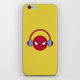 Spider-man Homecoming Minimalist Poster - Headphones iPhone Skin