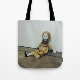 Creepy Walda Doll - A Thrift Store Find Tote Bag