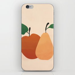 An Apple and a Pear iPhone Skin