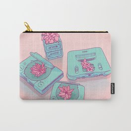 Flowers & Consoles Carry-All Pouch