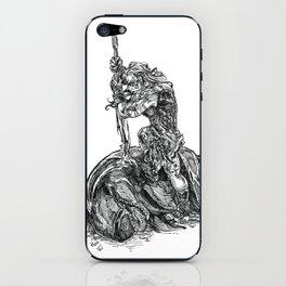 Inktober 2018: Whale iPhone Skin