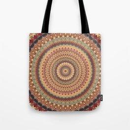 Earth Mandala 3 Tote Bag